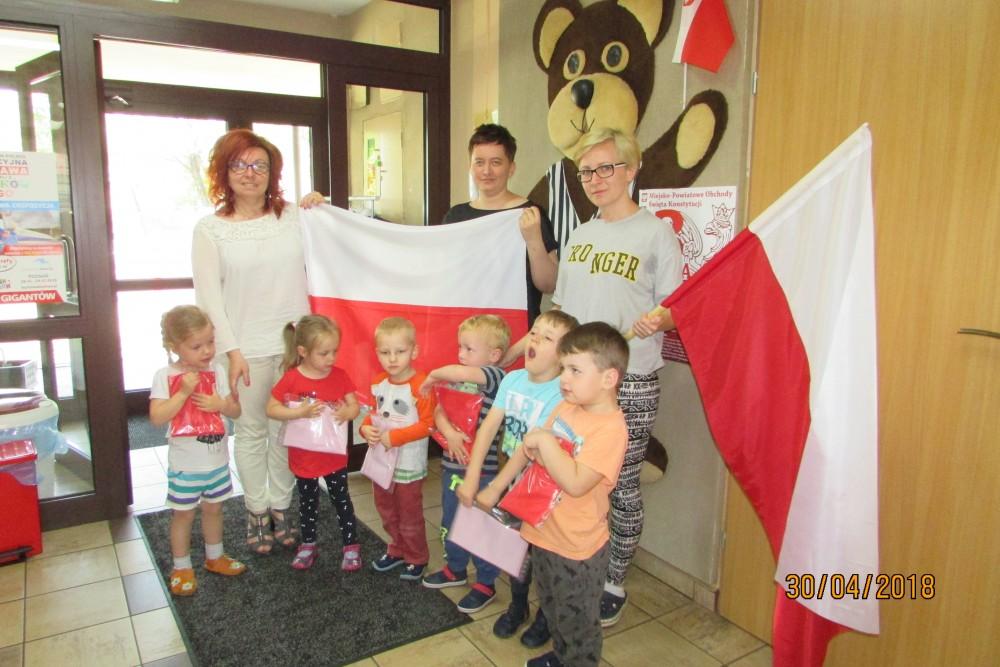 Przedszkole Nr2 Miś święto Flagi Głos Słupcy Kleczewa